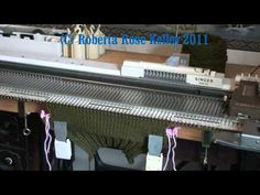 Machine Knit Gloves - YouTube