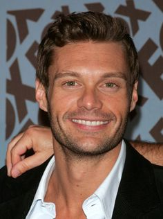 Ryan Seacrest...over listening to his morning show the past 3 years, and speaking to him once, I'm fairly certain we're supposed to be best friends. Love this guy!