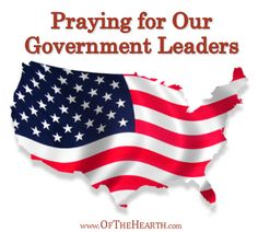 Praying for Our Government Leaders govern leader