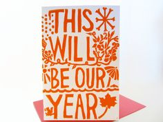 New Years Eve Card.
