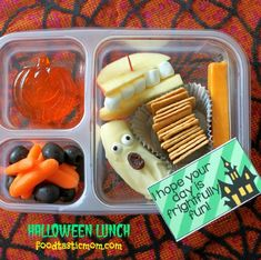 Halloween Lunch Box