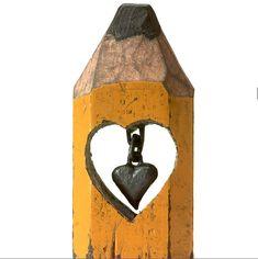 Dalton Ghetti Art-pencil sculpture 9