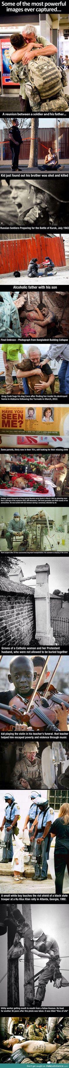 Powerful photographs
