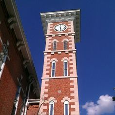 Courthouse in Martinsville, #Indiana.