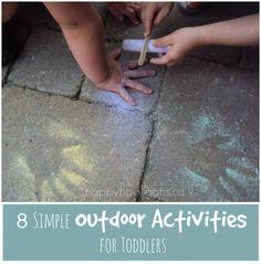 8 simple outdoor activities for toddlers - happy hooligans