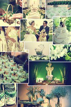Casamento em verde e branco: inspire-se para decorar | Tony Cavalcanti Fotógrafo - CNPJ: 15.080.669/0001-08