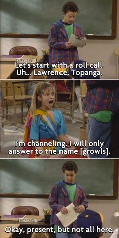 Best Insults from 90s Kids TV Shows // Flavorwire :) - Topanga was only supposed to be a guest star on the show for one or two episodes... but they liked her so much that they kept her on! Amazing!