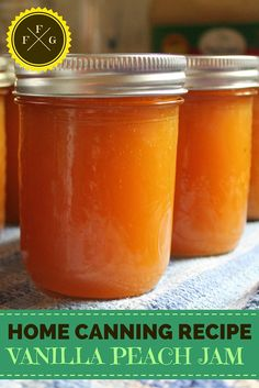 Canning Peaches: Van