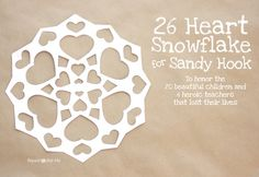 26 Heart Snowflake for Project Snowflake