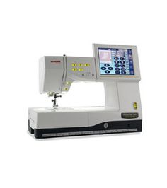 Janome Memory Craft - $7,999.00 + tax  The ferrari of the sewing machines!