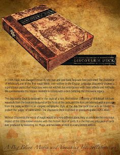 Discoverie Deck Coming Soon