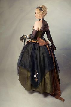Pretty steampunk dress