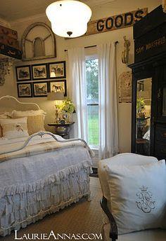 Farmhouse equestrian bedroom
