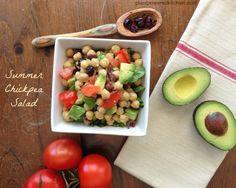 Summer Chickpea Salad by Dreena Burton, Plant-Powered Kitchen #vegan #glutenfree #soyfree #nutfree #oilfree