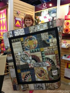 One Lucky Day: Houston Quilt Market - part 1