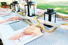 Nautical Themed Summer Bash - perfect for a masculine birthday theme!