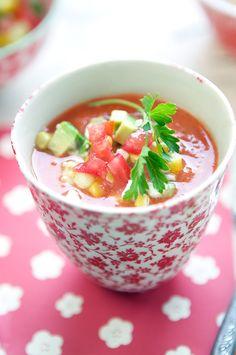 Tomatoes rhyme with gazpacho | La Tartine Gourmande