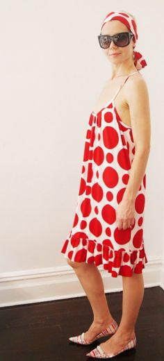 Red Dot Dress  IN STOCK by esoneofone