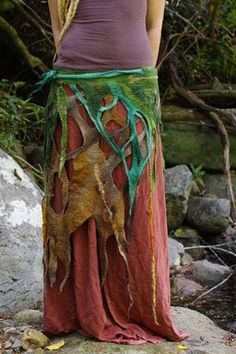hippie skirt...makes me think of mermaids & fairies......well, & hippies, of course. ;)