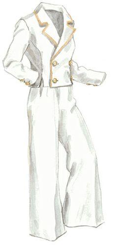 1936 Linen Jacket and Wide Leg Pants || The J. Peterman Company
