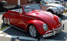 VW Beetle Red