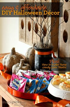 Easy and Affordable Halloween Ideas