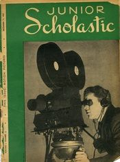 The December 1937 issue of Junior Scholastic was all about motion pictures.