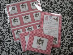 Horse theme stationary