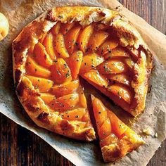 Healthy Apricot-Thyme Galette | CookingLight.com