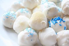 sugar cookies truffles for January.
