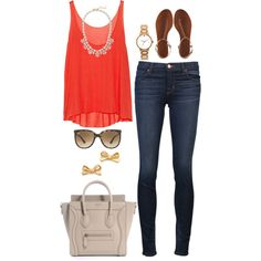 Red., created by the-southern-prep on Polyvore
