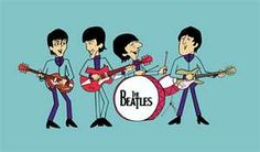 The Beatles from the 1960's cartoon.