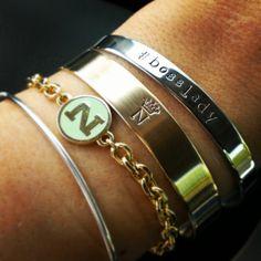 'Princess' Cuff Personalized Bracelet