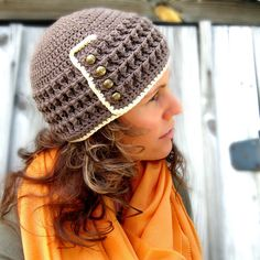 Wendy Hat Crochet Pattern. $4.99, via Etsy.