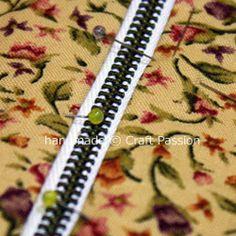 Tutorial for Internal Zipper Pocket