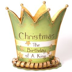 Christmas Birthday Crown Decoration