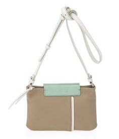 Marc by Marc Jacobs Round the Way Colorblocked Percy bag in Buffed Sand