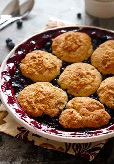 Blueberry Cobbler   URBAN BAKES