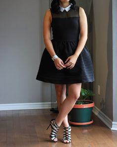 maje dress and gianvito rossi booties