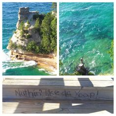 #picturedrocks #lakesuperior #minerscastle #munising #puremichigan