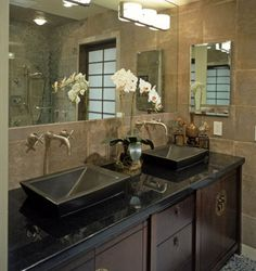 Spa Bathroom Design On Pinterest Decor