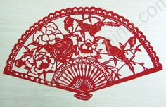 Paper fan paper fan, hand fans, bird fan