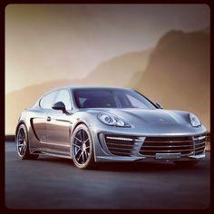 Sublime Porsche Panamera GTR
