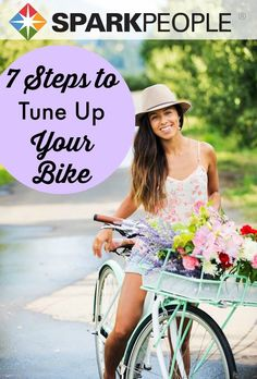 Hit the road this weekend with a well-tuned bike. Do it yourself with this simple guide. | via @SparkPeople #fitness #exercise #bicycle #cycle #DIY