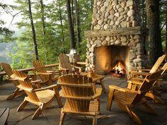20 Stunning Outdoor Fireplaces | Bridgman Furniture