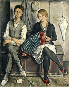 """""""Le Malcontent"""" 1930, François-Emile Barraud (1899-1934)"""
