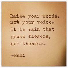 Rumi Quote | by farmnflea on E