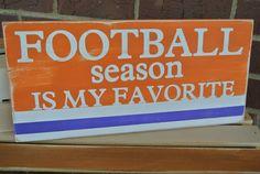football season is my favorite team colors by scrapartbynina, $25.00