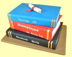 make a book, books, cake tutorial, celebration cakes, graduat cake, sugar art, graduation cake, book cakes, art tutorials