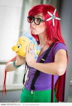 Flounder and Hipster Ariel
